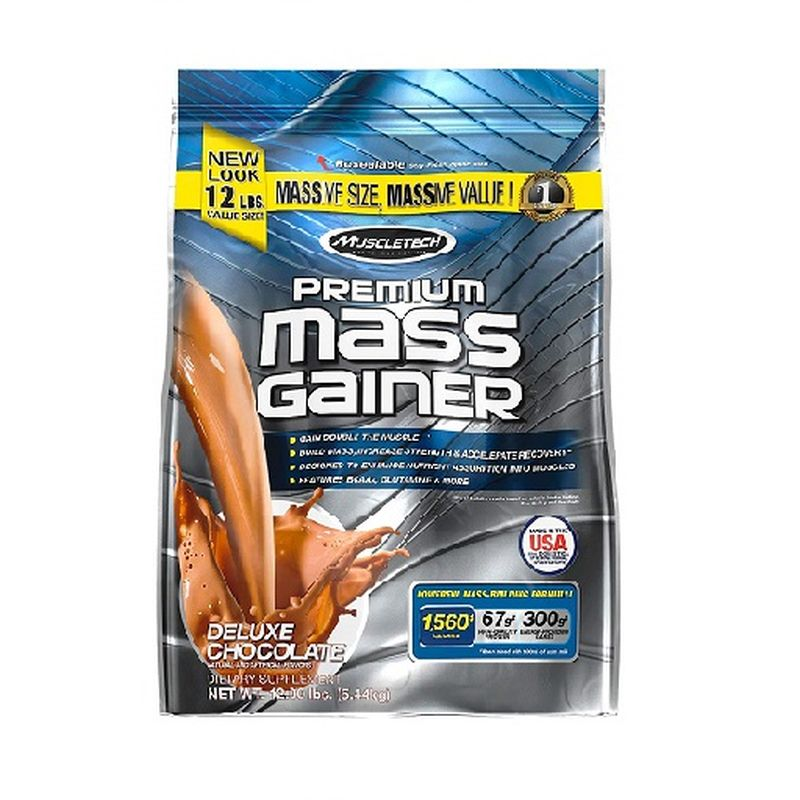 MuscleTech 100% Mass Gainer 5,5kilogram