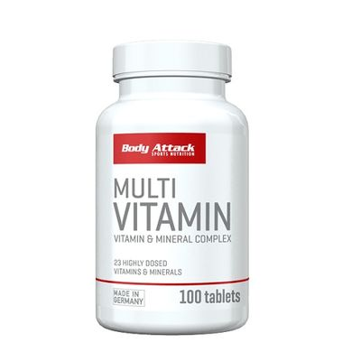 Body Attack Multi Vitamin 100 Tabletten