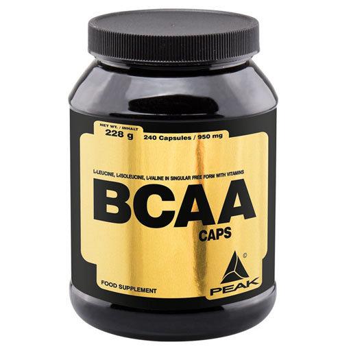 Peak BCAA - 240 caps