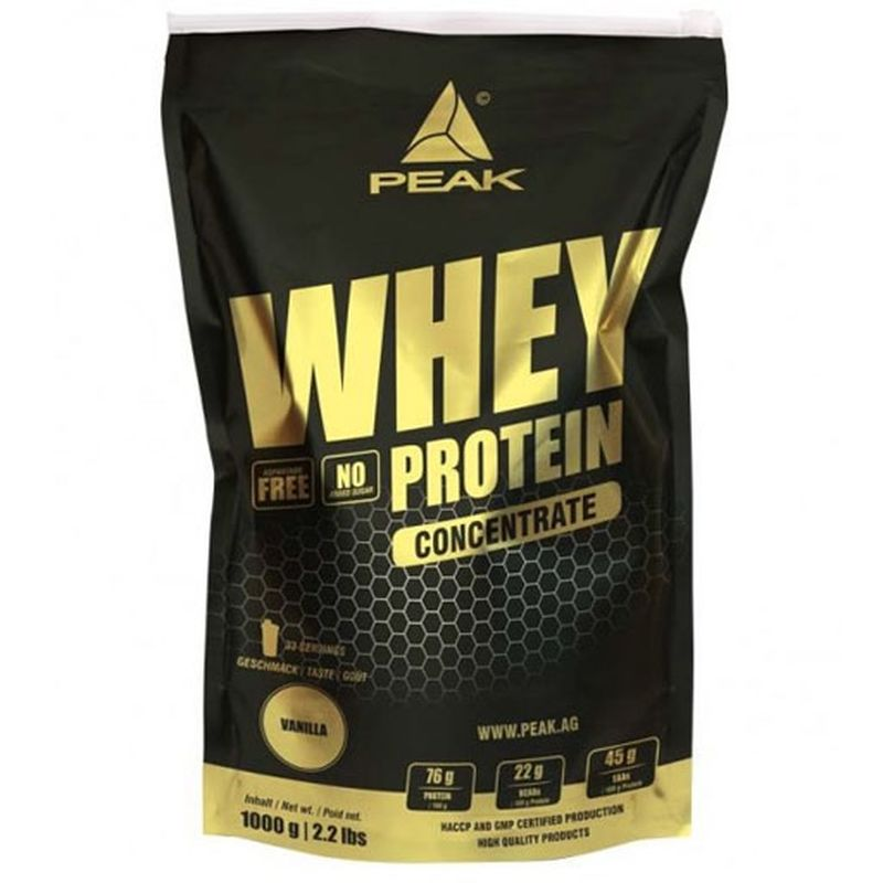 Peak Whey Concentrate - 1kilogram