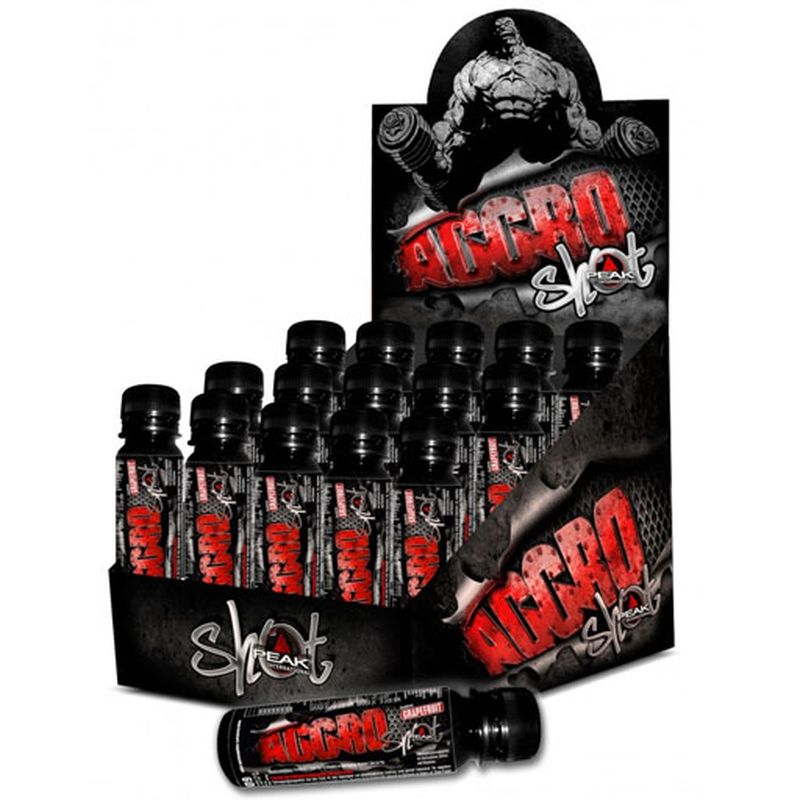 Peak Aggro-Shot 15x60ml