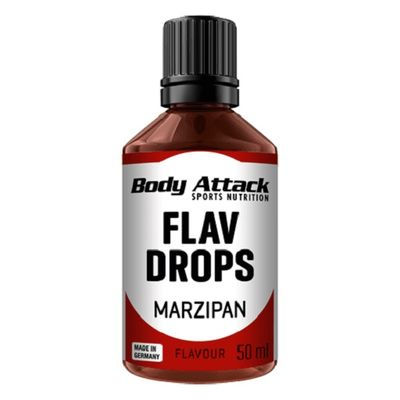 Body Attack Flavour Drops 50ml