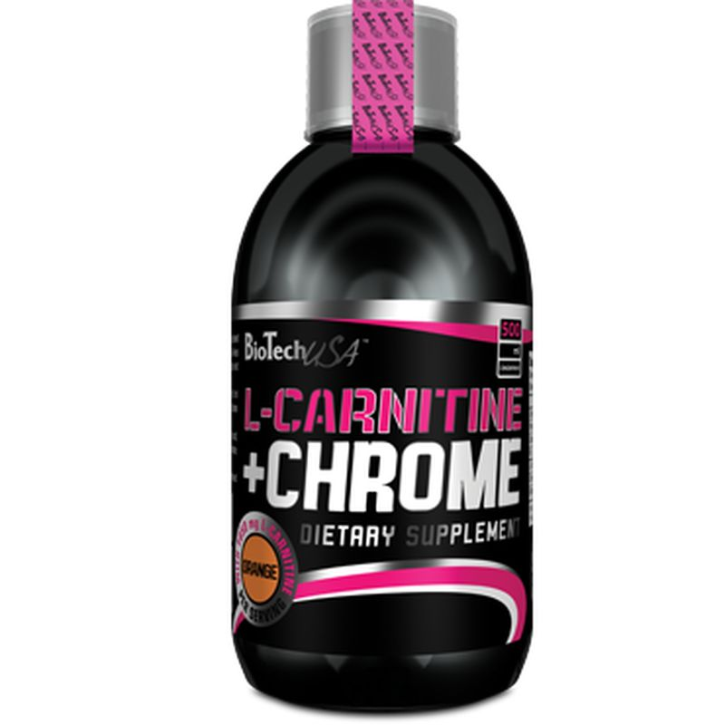 BioTech L-Carnitine + Chrome Liquid Concentrate 500ml