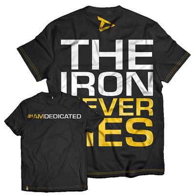 Dedicated T-Shirt The Iron Never Lies