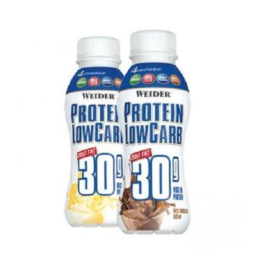 Weider Muscle Low Carb Drink, (6x330 ml)