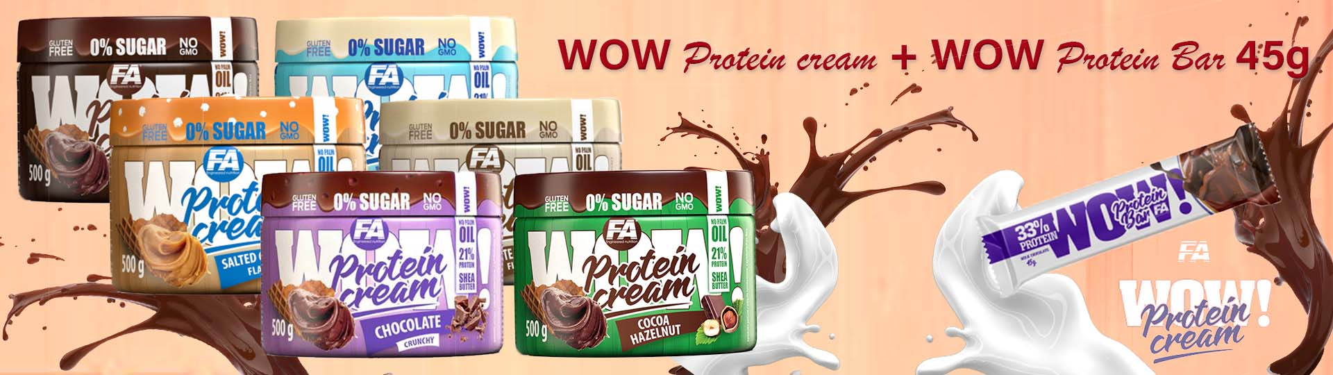 WOW Protein Creme